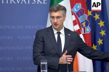 Irish and Croatian PMs on Brexit, Migrants