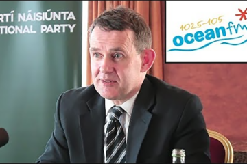 An Irish Island only – Justin Barrett interviewed by Ocean FM