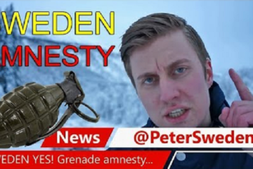 Things are so Bad Now in Multicultural Sweden they need a Hand Grenade Amnesty